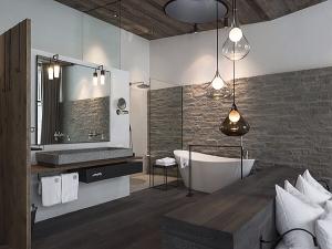 Дух пуризма для ванных комнат