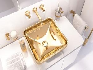 VitrA представила «золотые» раковины